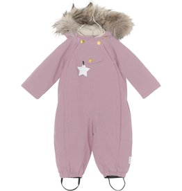 Wisti snowsuit with fur, orchid purple