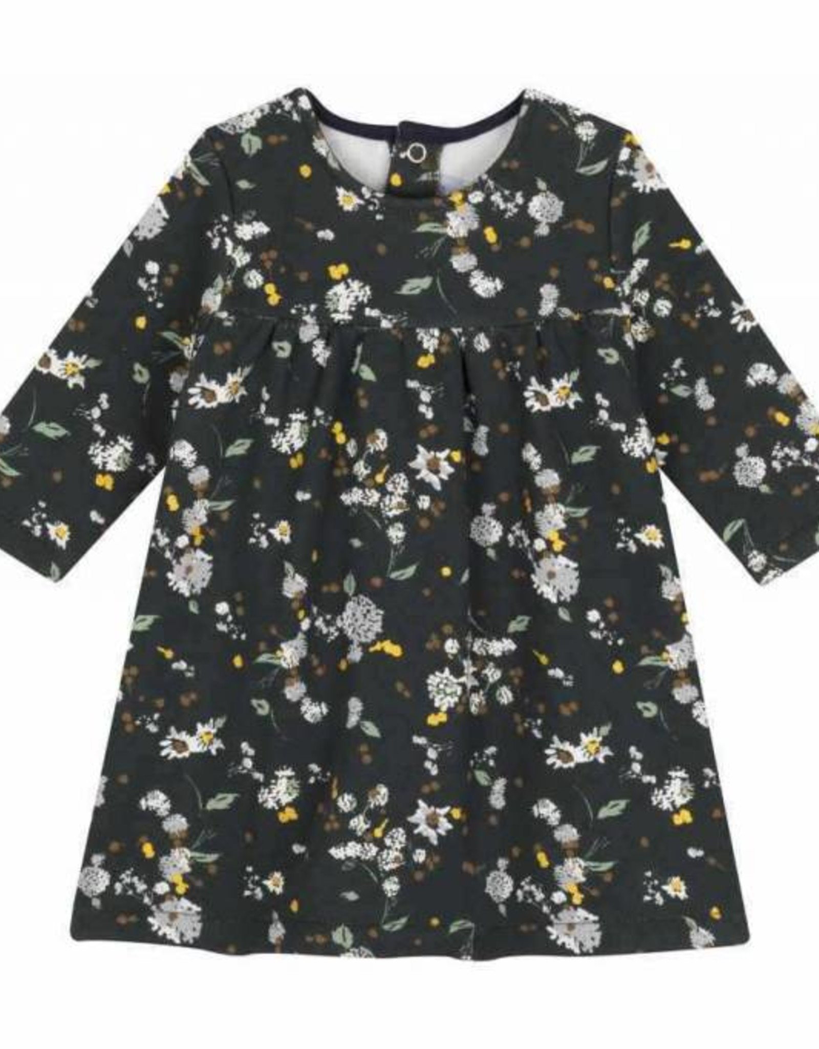 Baby's dress, flowers print