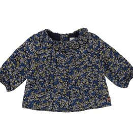 Blouse, flowers print