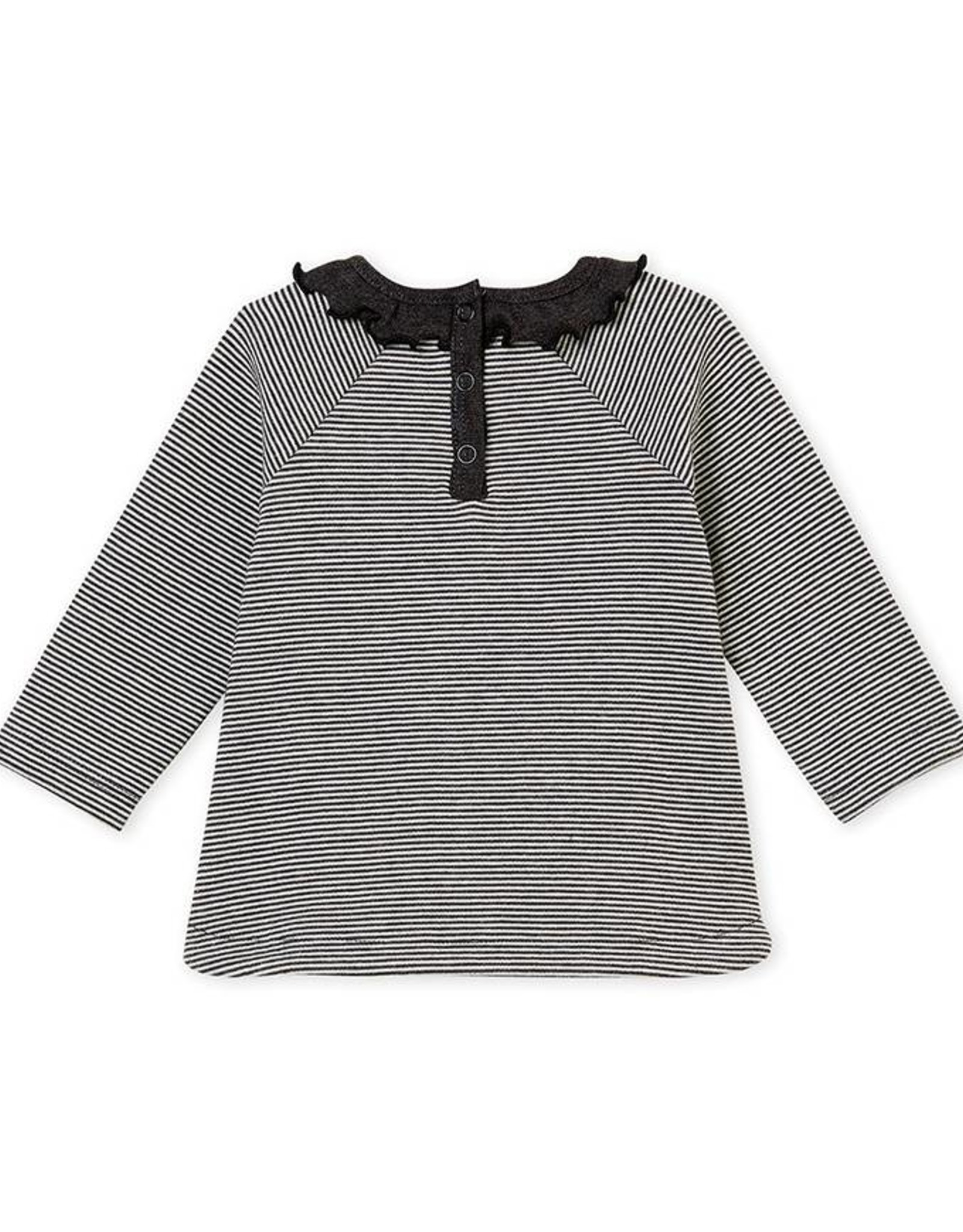 Petit Bateau Girl's t-shirt, with stripes