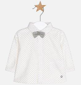 Chemise à noeud papillon pour bébé