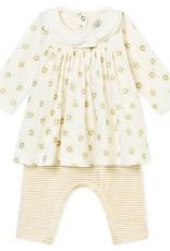 Ensemble robe et legging pour bébé