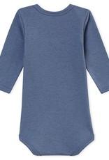 Petit Bateau  Wool and cotton bodysuit