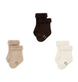 Lot de 3 chaussettes pour bébé