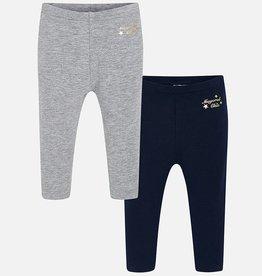 Set of 2 baby leggings