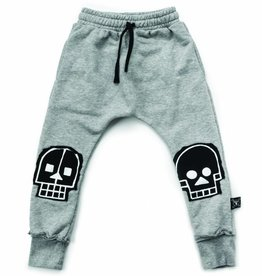 Skull robot patch baggy pants