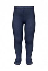 Plain stitch basic tights