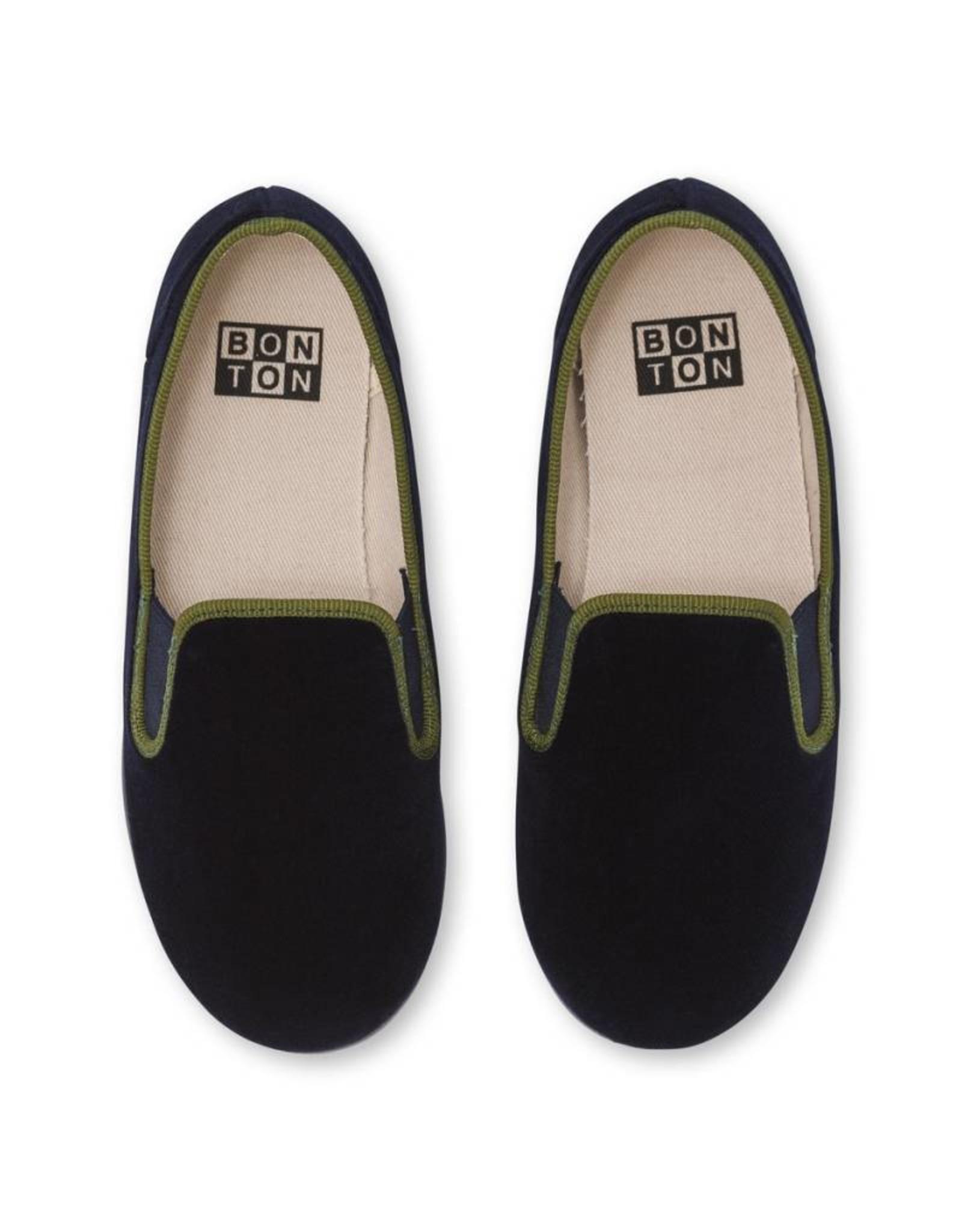 Kid's elastic slippers