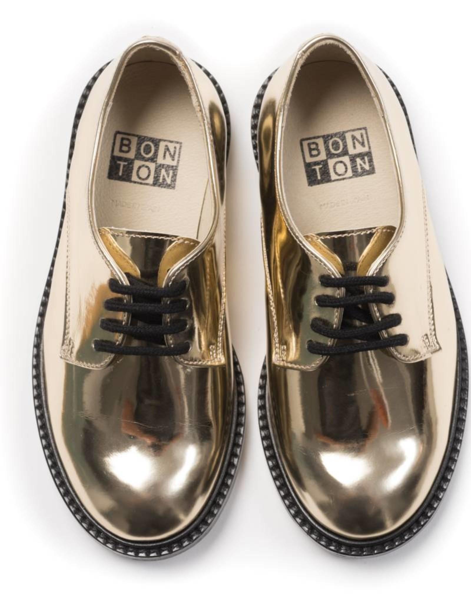 Bonton Adele Derby shoes, mirror effect