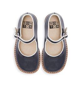 Chaussures Mary Jane en cuir vernis pour bébé