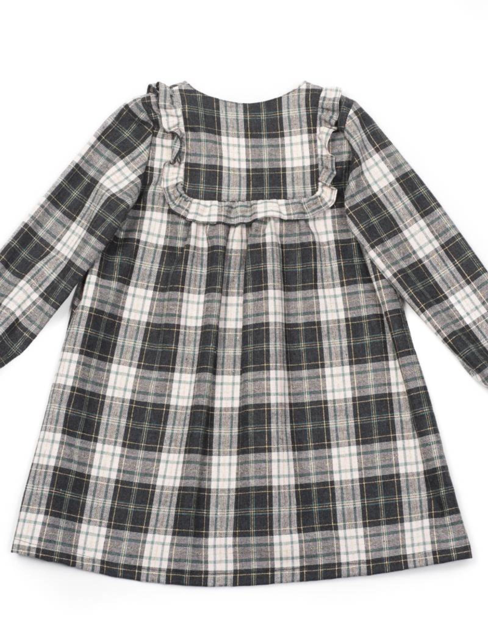 Bonton   Praline dress, Tartan print
