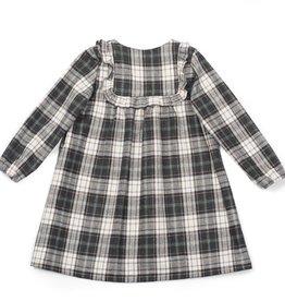 Praline dress, Tartan print