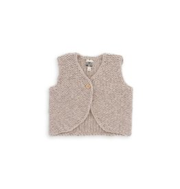 Bonton  Chunky-knit baby jacket