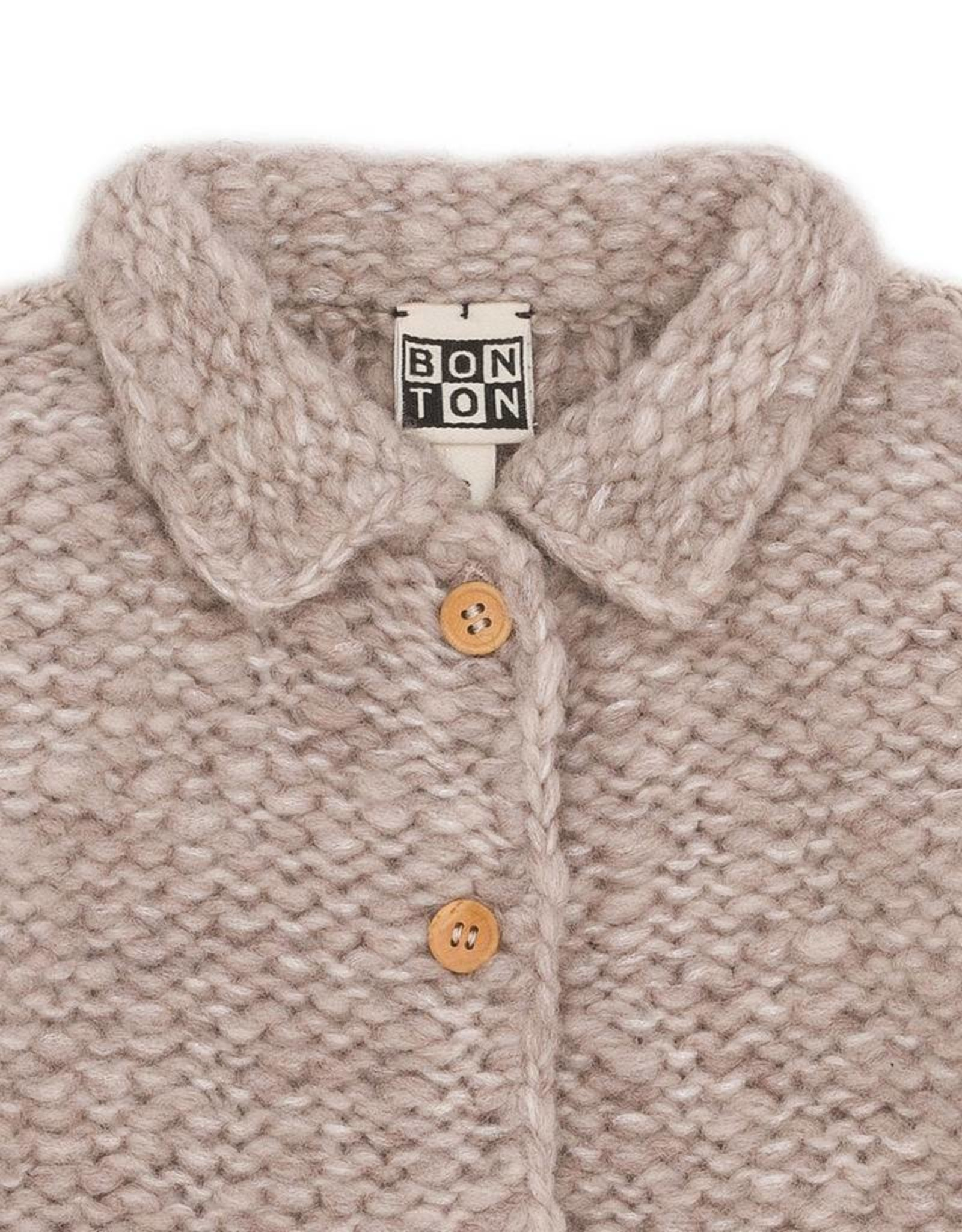 Bonton  Baby wool jacket