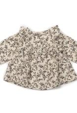 Baby blouse, flowers print