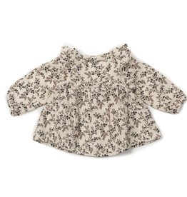 Baby blouse, flowers print