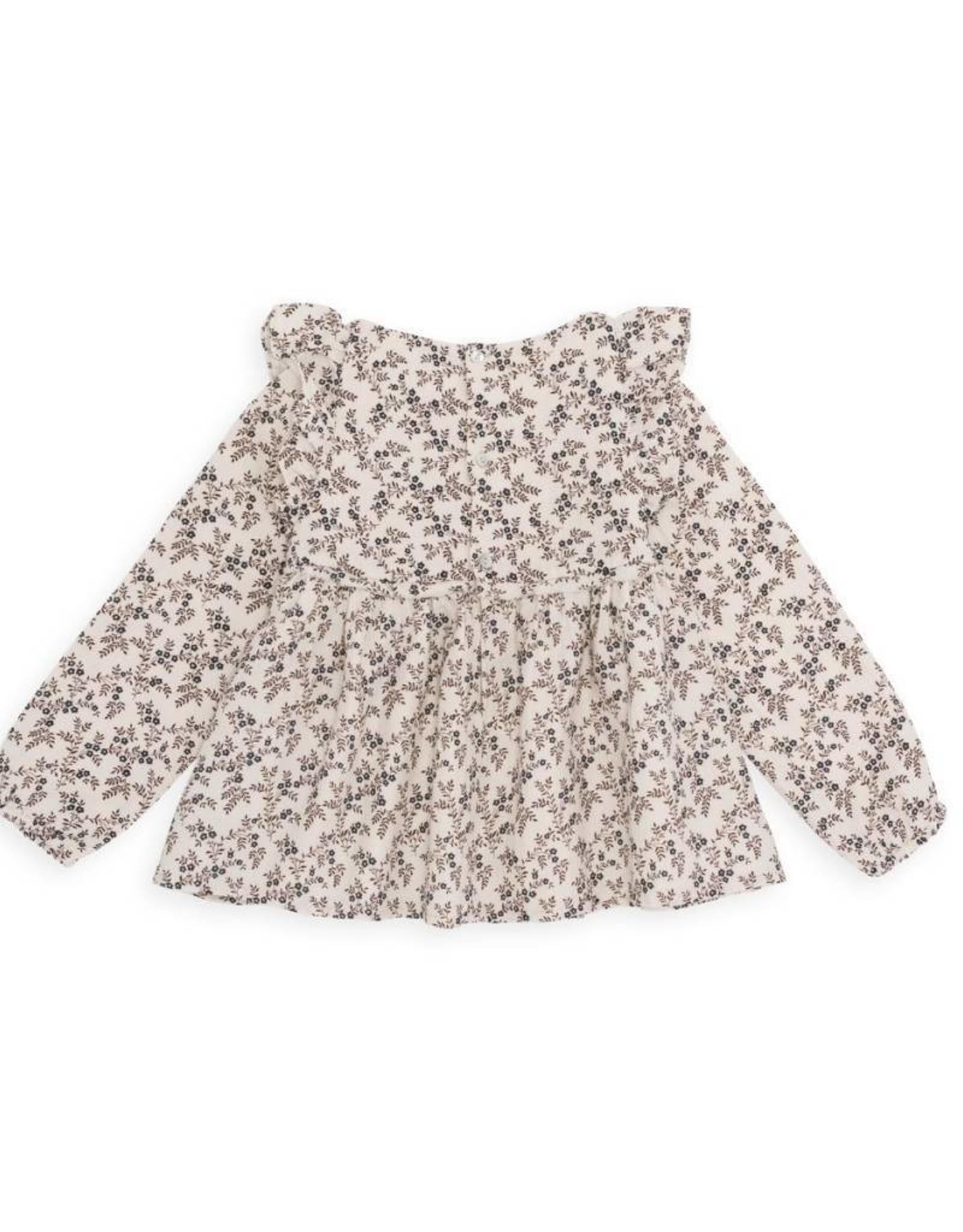Kid's ruffled Pecorino blouse