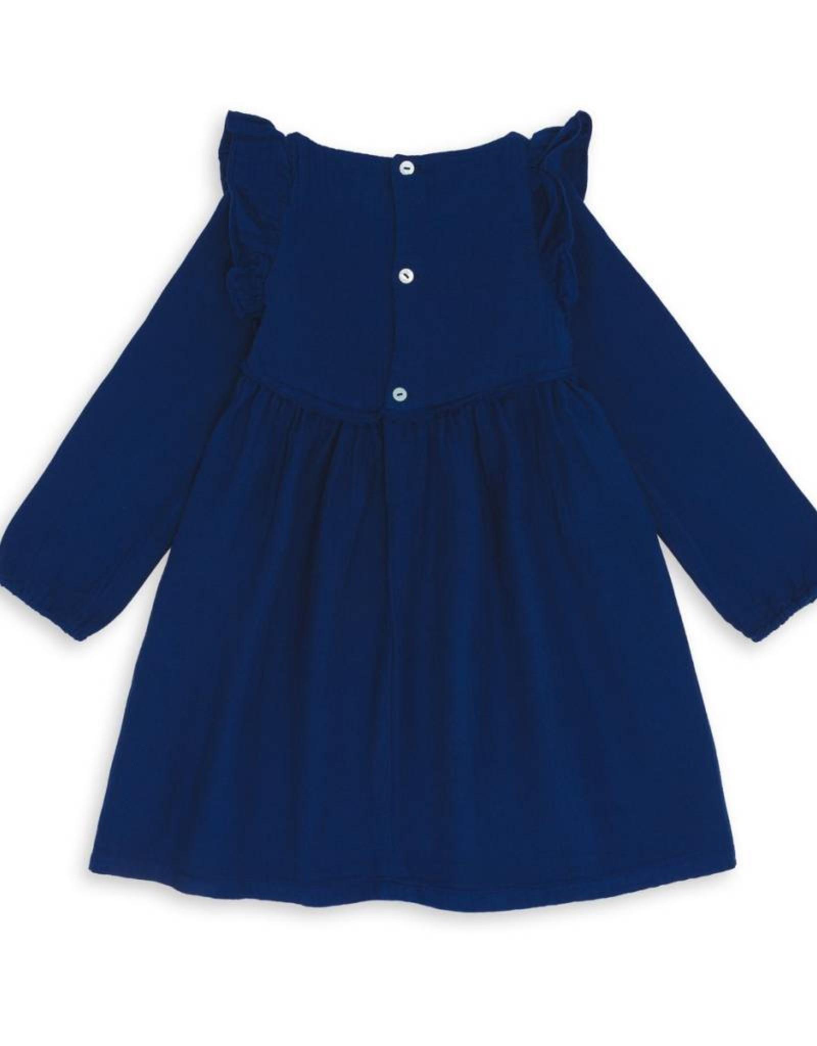 Bonton  Kid's ruffle dress