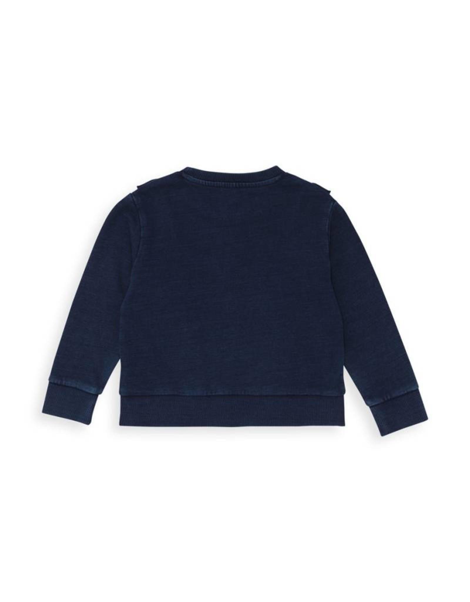 Bonton  Ruffled sweatshirt