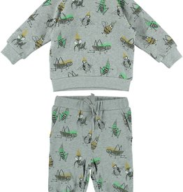 2 pieces set, insects print