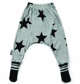 Star footed baby pants