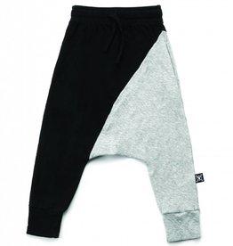 Pantalon de jogging moitié/moitié
