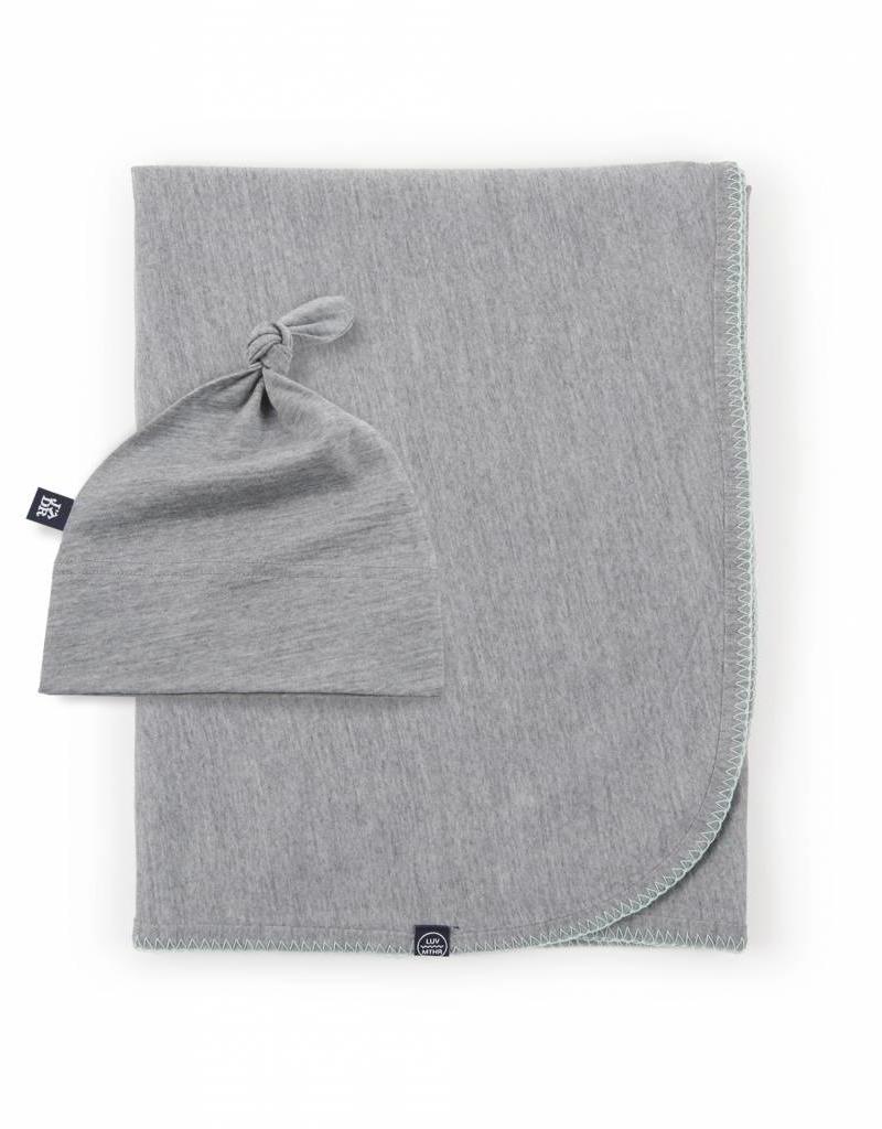Ensemble tuque Knot et couverture pour bébé