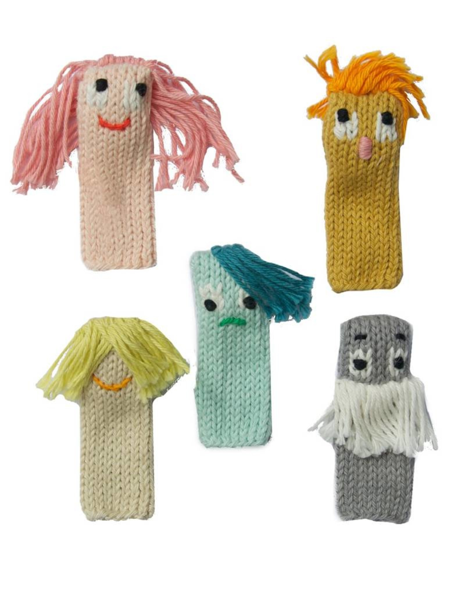Blabla Kids Set of 5 Finger Puppets Expressionists