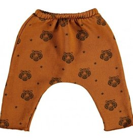 Pantalon sarouel, imprimé tigres