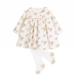 Petit Bateau Ensemble robe et collant pour bébé