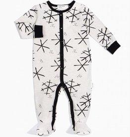 Pyjama pour bébé, imprimé flocons
