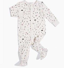 Pyjama pour bébé, imprimé sapins
