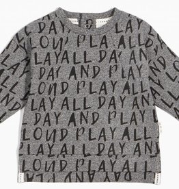 """Chandail """"Play all day"""""""