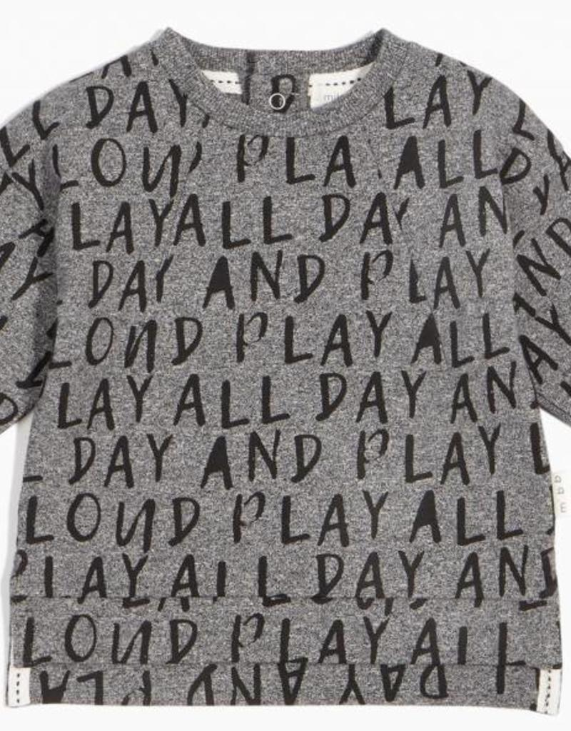 "Chandail ""Play all day"""