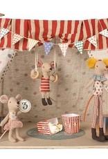 Cirque avec 3 souris