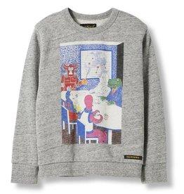 Monster Plan sweater
