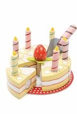Gâteau de fête à la vanille