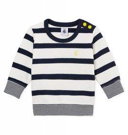 Baby navy sweater