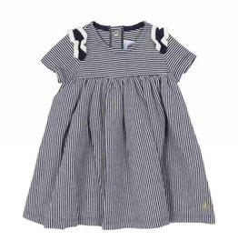 Robe à rayures pour bébé