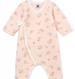 Baby pajamas, little rabbits print