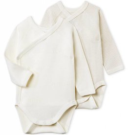 Set of 2 baby bodysuits