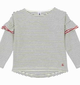 Ruffled sailor shirt