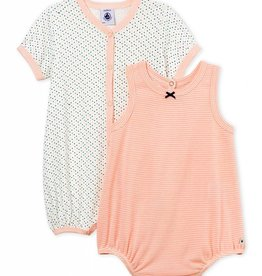 Set of 2 baby rompers