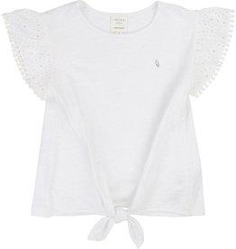 T-shirt à noeud