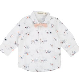 Baby shirt, dogs print