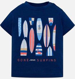 T-shirt, surf print