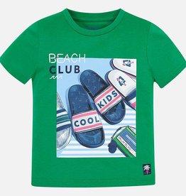 T-shirt, flip flops print