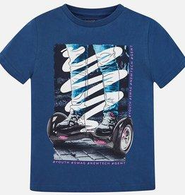 T-shirt, hoverboard print