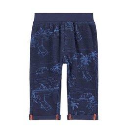 Pantalon, imprimé palmiers