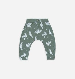 Slouch pant, Cockatoo print